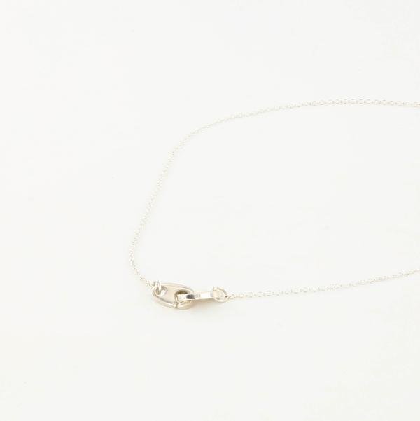 sterling silver nautical mini brummel necklace