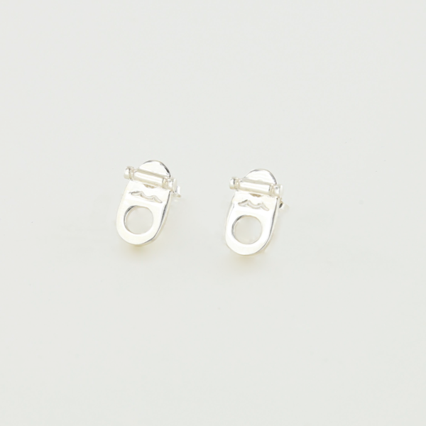 Toggle Earrings in Sterling Silver