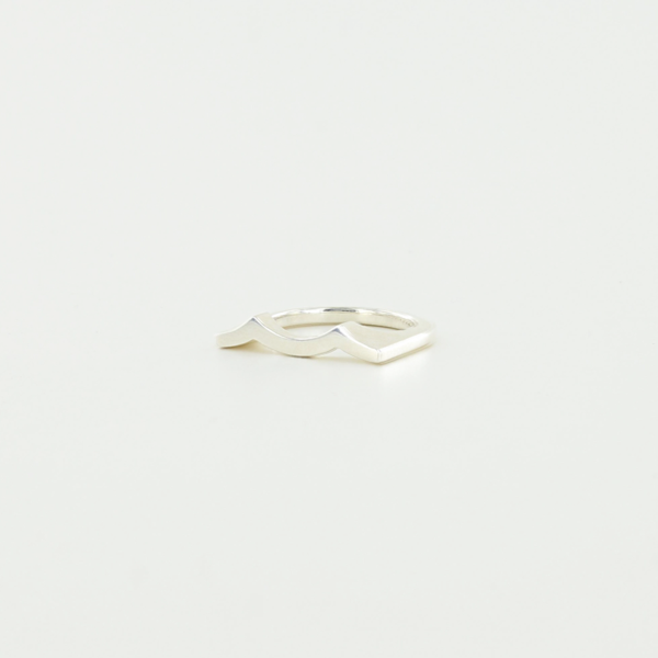 Tidal Wave Ring in Sterling Silver
