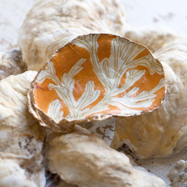 diy decoupage oyster shell kit in under the sea