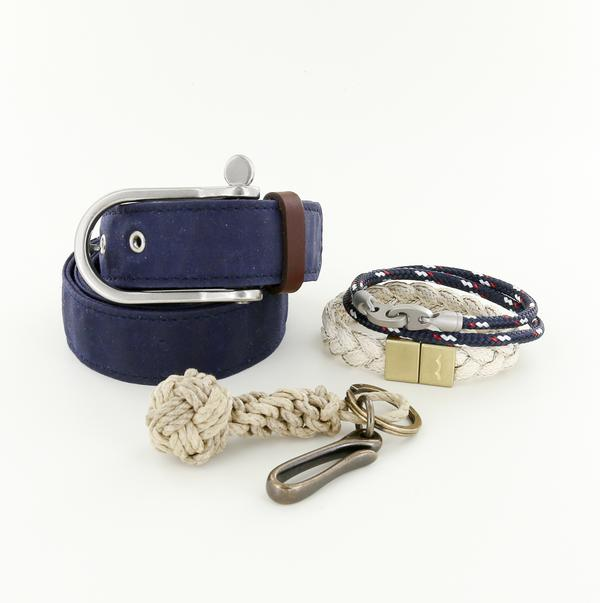 preppy guy gift set for boater and yacht club goers
