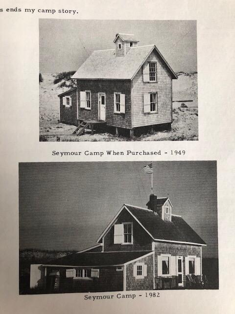 Nauset Beach Camp 1949 and 1982