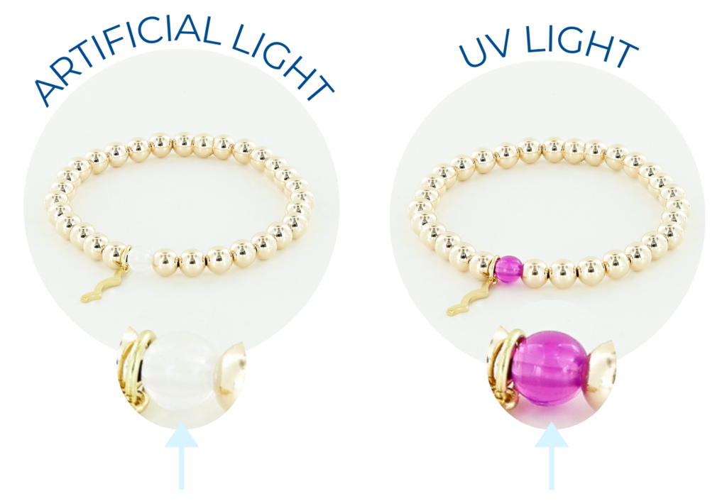 uv awareness bracelet for sun protection and safety rayminder