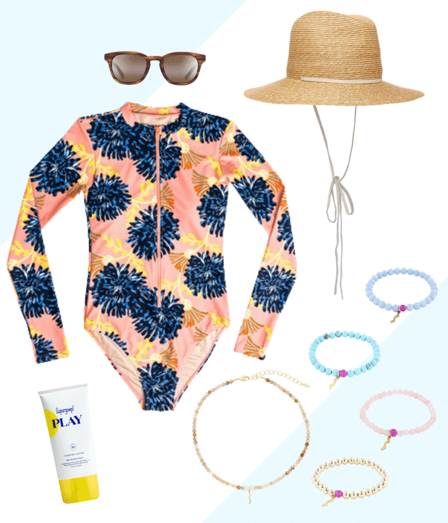 memorial day packing list for sun safety