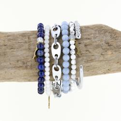 uv awareness bracelets for sun safety and nautical cuff and link bracelet in silver for women